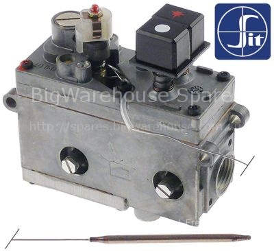 Gas thermostat SIT type MINISIT 710 t.max. 340°C 100-340°C gas i