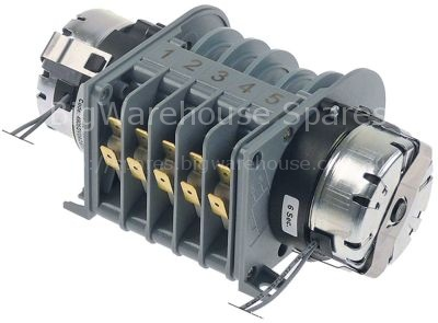 Timer CDC 4905DV engines 2 chambers 5 operation time 6s / 2min 2