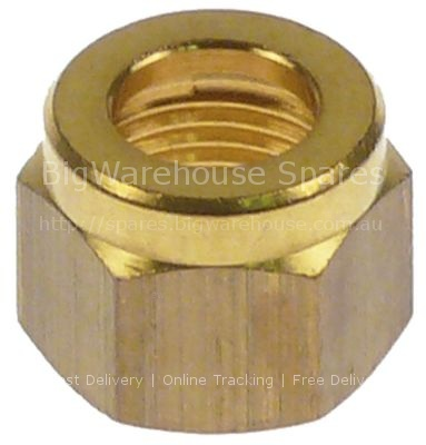 Union nut thread M12x1 for pipe ø 8mm
