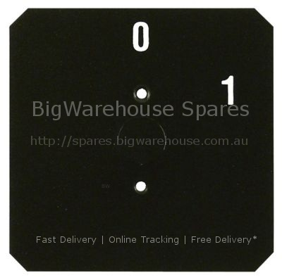 Symbol label 0 up to 1 L 58,5mm W 58,5mm bore ø 10mm mounting di