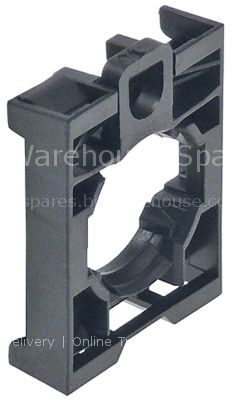 Contact block holder triple