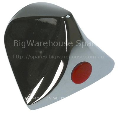 Triangular handle H2 21,5mm D1 ø 30mm type A suitable for KLARCO