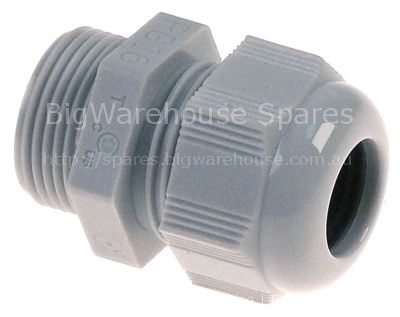 Cable gland thread PG16 cable ø 14mm mounting ø 22,5mm Qty 1 pcs