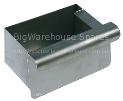 Grease collecting tray L 110mm W 170mm H 85mm