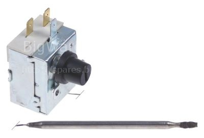 Safety thermostat switch-off temp. 238°C 1-pole 1NC 16A probe ø