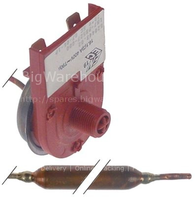 Safety thermostat t.max. 70°C temperature range 0-70°C 1-pole 1N