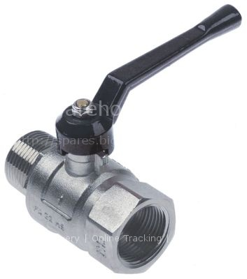 """Ball valve connection 1"""" IT - 1"""" ET DN25 total length 90mm with"""