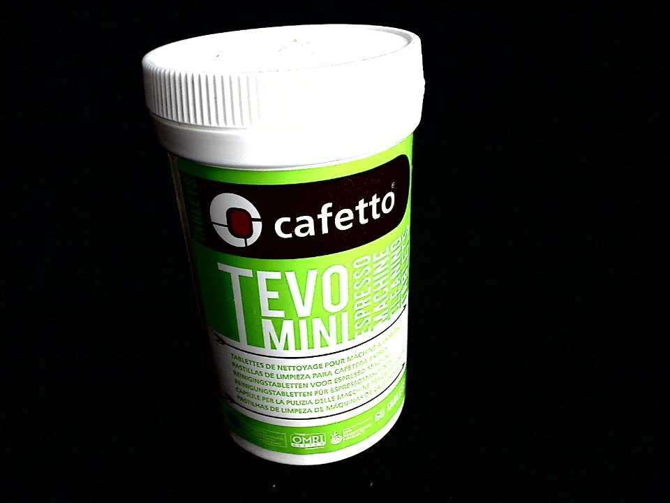 CAFETTO TEVO MINI TABLETS 60 Pack Coffee Residue Cleaning Tablet