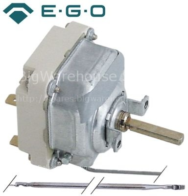 Thermostat t.max. 320°C temperature range 50-320°C 3-pole 3NO 16